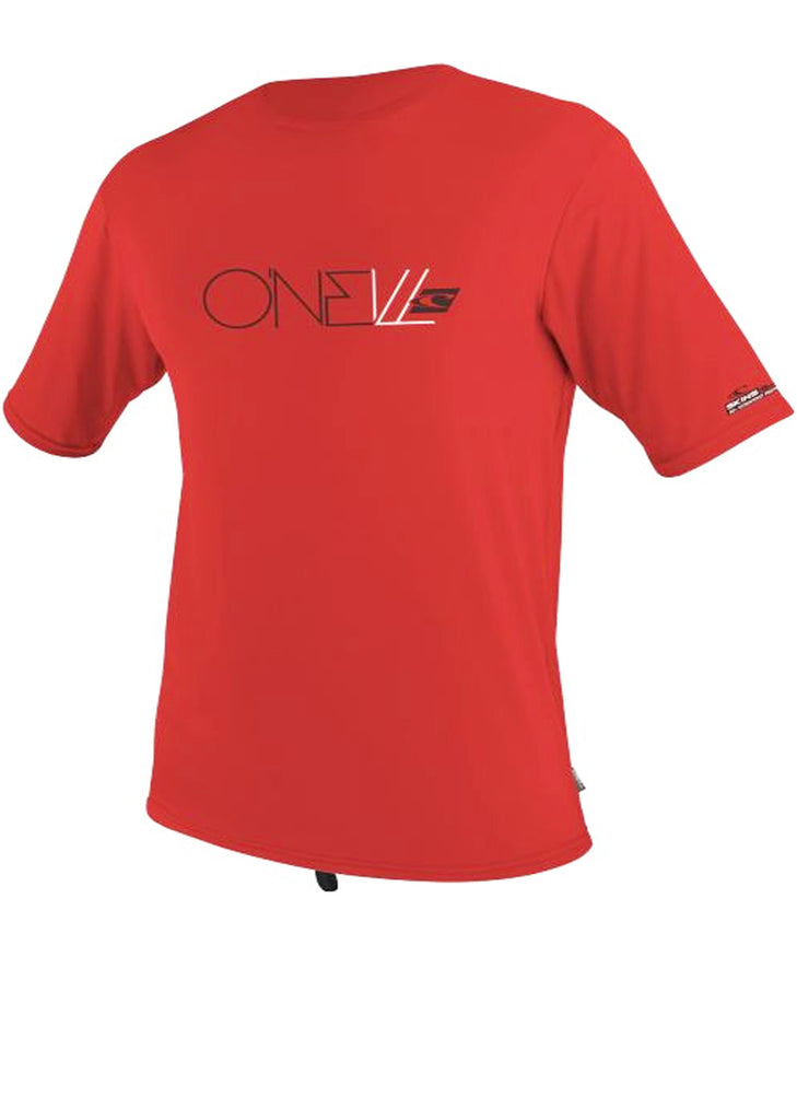 O'Neill youths rash tops - bright red