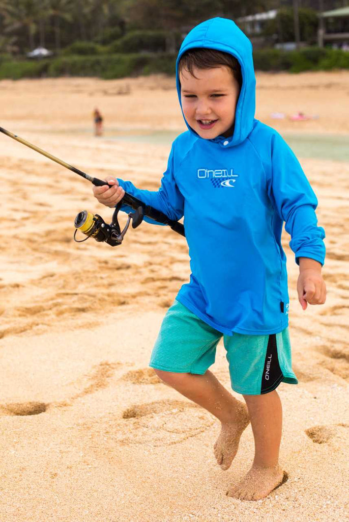 O'Neill toddler rash top - ocean hoody