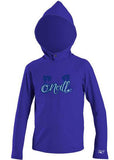 O'Neill toddler rash top - cobalt hoody