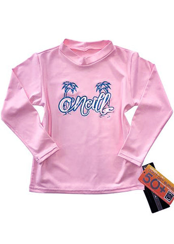 O'Neill toddler rash top - berry hoody