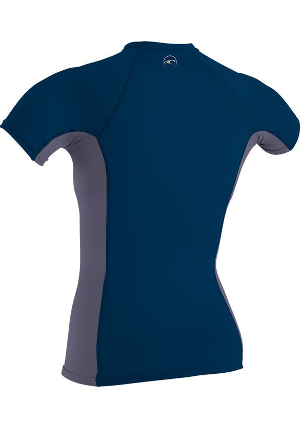 O'Neill womens rash top - abyss dusk