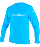 O'Neill youth rash top - bright blue long