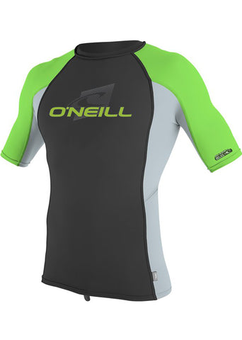 O'Neill mens rash tops - white long