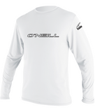 O'Neill youth rash top  - white long