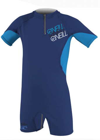 O'Neill baby UV suits - sky/lime