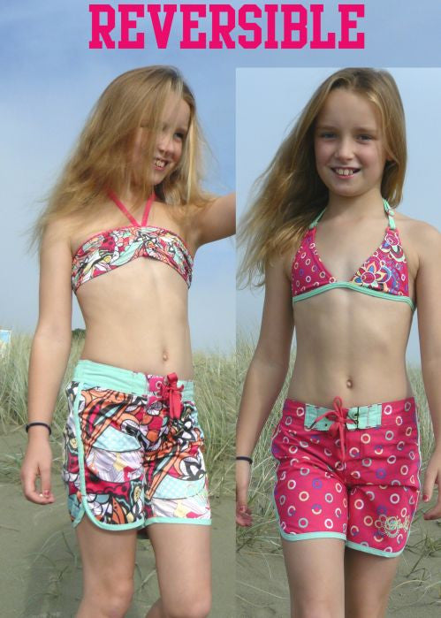 O'Neill girls boardies - tropical