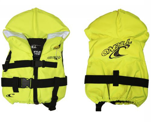 O'Neill lifejackets - neon yellow