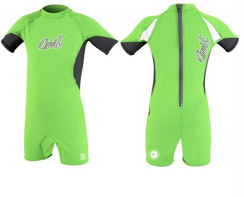 O'Neill UV suits - bright green