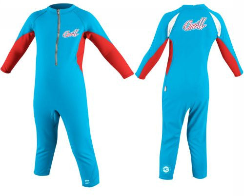 O'Neill UV suits - sky/red full