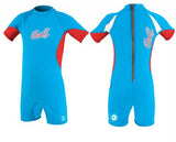 O'Neill UV suits - sky/red