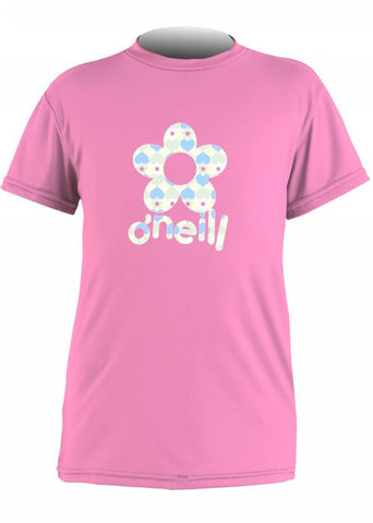 O'Neill toddler rash top - pink