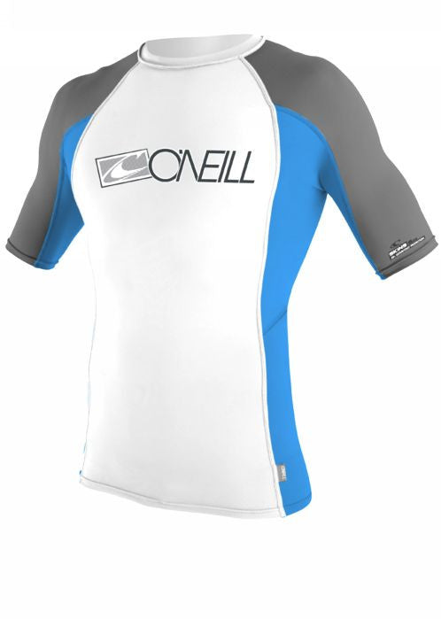 O'Neill youths rash tops - white/bali