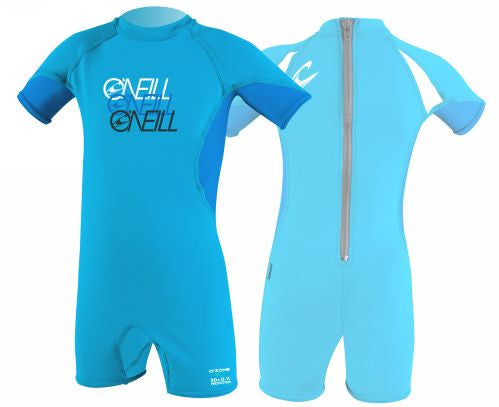 O'Neill UV suits - turquoise