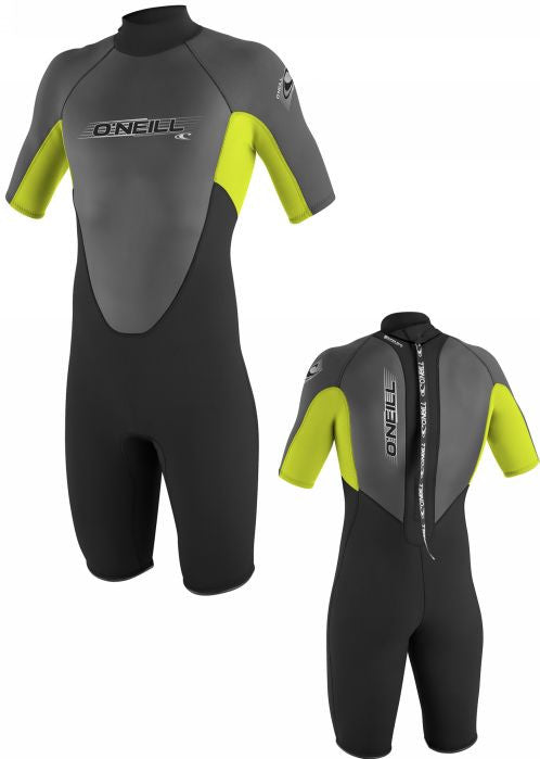 O'Neill wet suits - black/lime