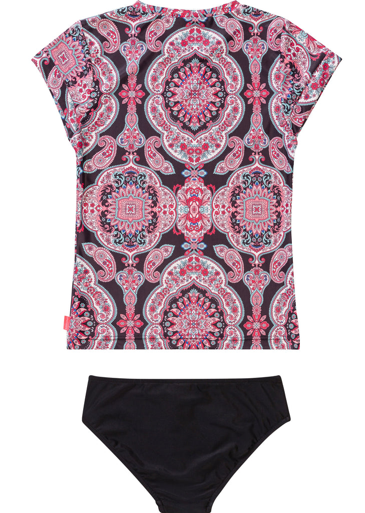 Seafolly UV two piece suit - ruby black