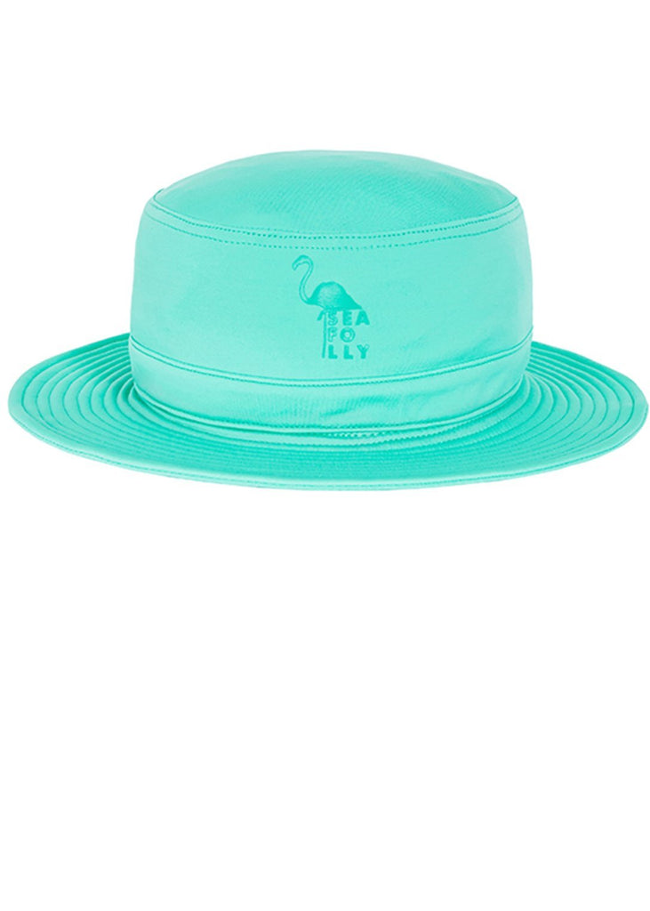 Seafolly UV hats - emerald bucket