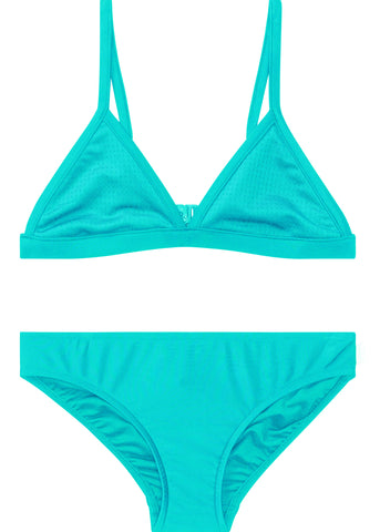 Seafolly girls bikini - tropical lattice