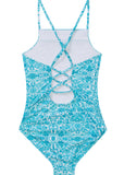 Seafolly girls swimsuit - ocean tapestry
