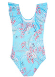 Seafolly girls swimsuit - tahiti blue
