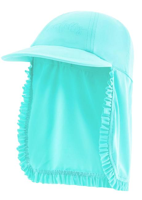 Seafolly UV hats - emerald blue
