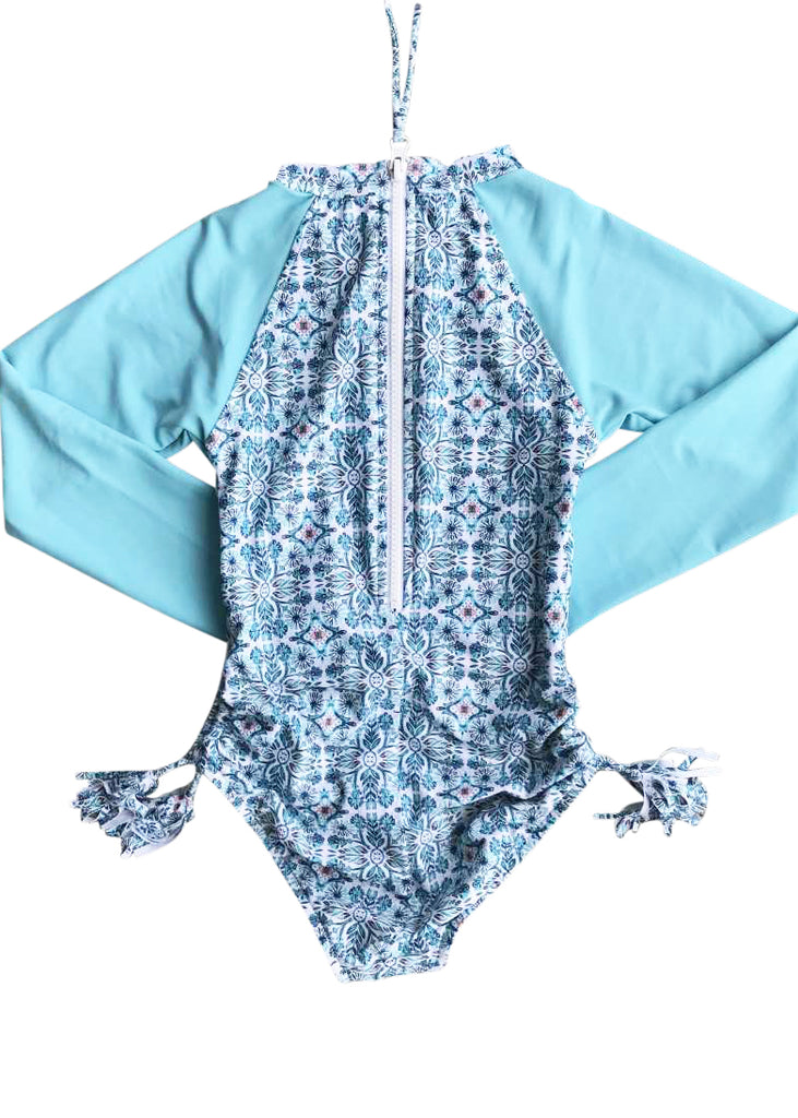 Seafolly UV sunsuit - aqua