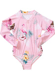 Seafolly UV sunsuit - tropical pink