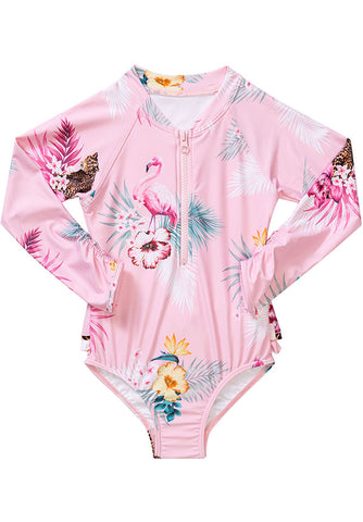 Seafolly UV sunsuit - ruby black