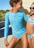 Seafolly UV two piece suit - aqua