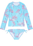 Seafolly UV two piece suit - tahiti blue