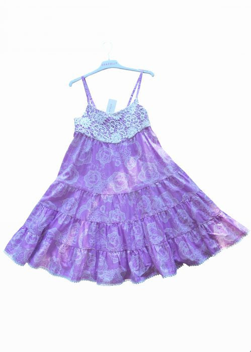 Seafolly girls dresses - lilac