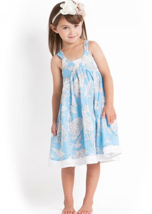 Seafolly girls dresses - ballet blue