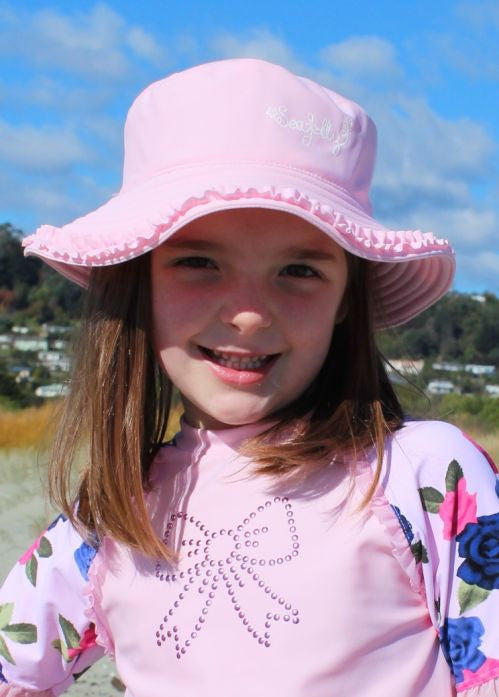Seafolly UV hats - sorbet