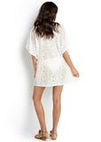 Seafolly womens kaftans - milk lace