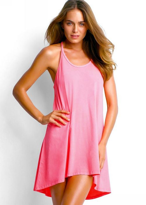 Seafolly womens dresses - coral