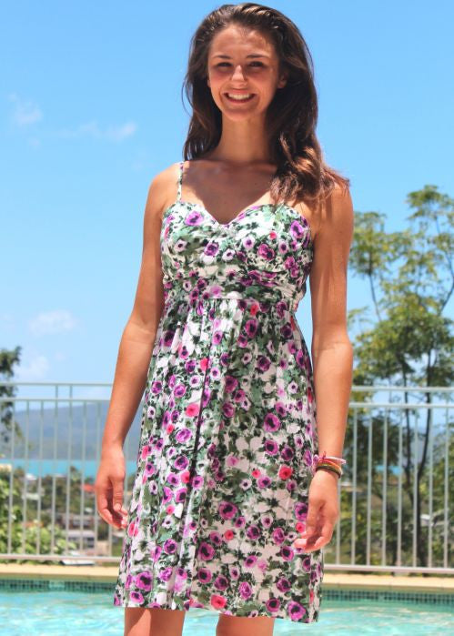 Seafolly womens dresses - tea rose orchid