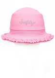 Seafolly UV hats - blush pink
