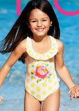 Seafolly girls swimsuits - lemon drop