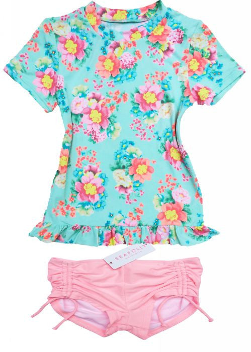 Seafolly UV suit sets - spring bloom