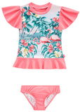 Seafolly UV two piece suit - hawaiian rose