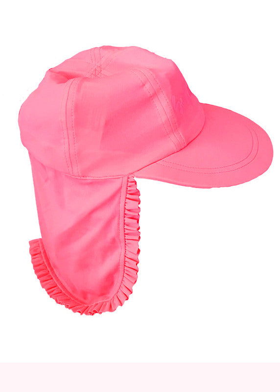 Seafolly UV hats - watermelon pink