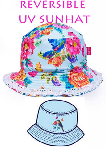 Sposh sun hats - red strawberry