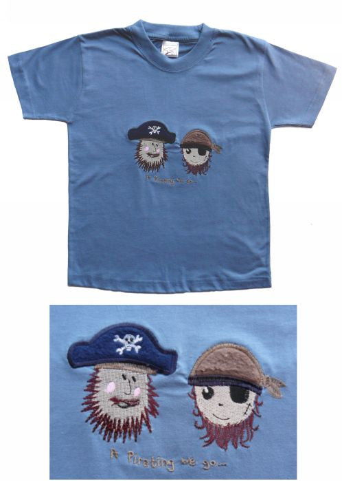 Seesaw T-shirts - pirate