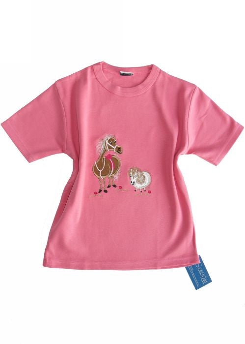 Seesaw T-shirts - rose pony