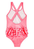 Seafolly girls swimsuits - watermelon pink