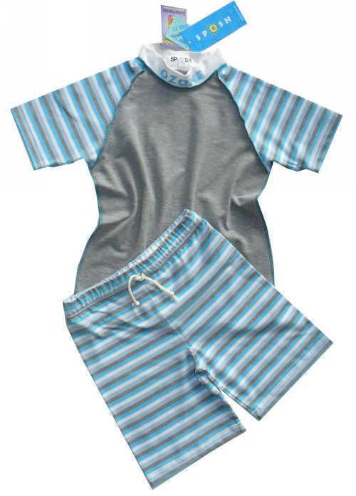 Sposh 2 piece sunsuit sets - turquoise quad