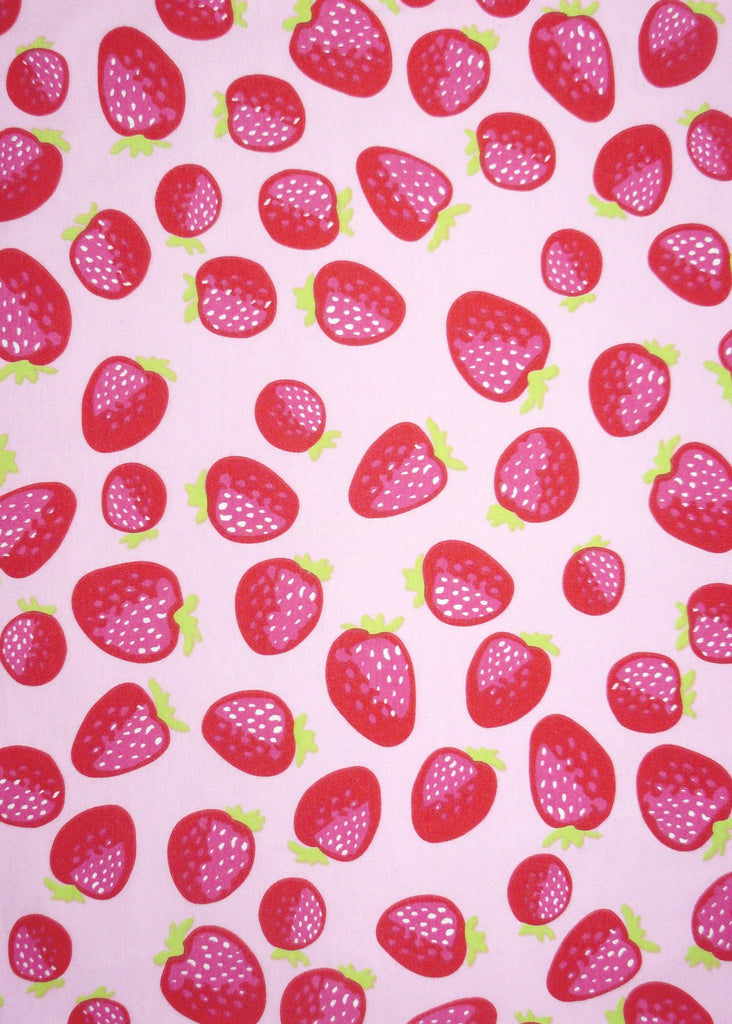 Sposh sunsuits - red strawberry
