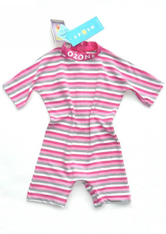 O'Neill baby sunsuit -  fox pink