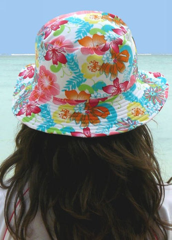 Flap Happy sun hats - white
