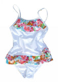 Sun Emporium girls UV swimsuit - white