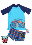 Tiger Joe UV rash tops - fuel set